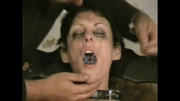 kinky milf doctor pushes her nurse's gold bazooka needle deep inside of her