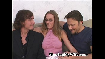 cheating wife masked couple enjoys a swinging threesome with her husband and a young boy