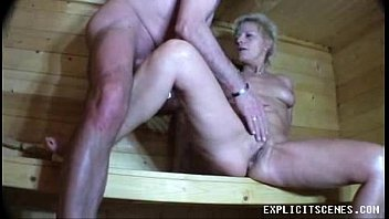 ass licked and fingered in the sauna
